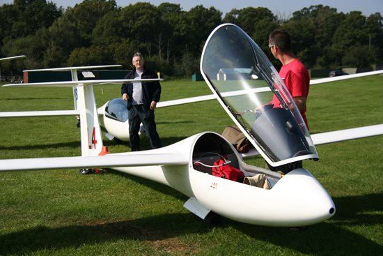 Gliding in West Sussex