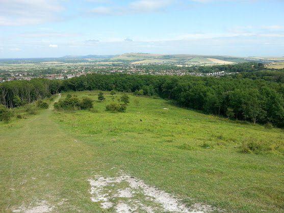 "Have you tried a ""Horseshoe"" walk from Steyning?"