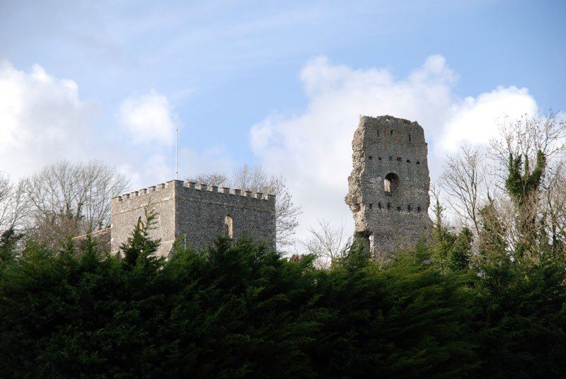 Bramber Castle Sussex