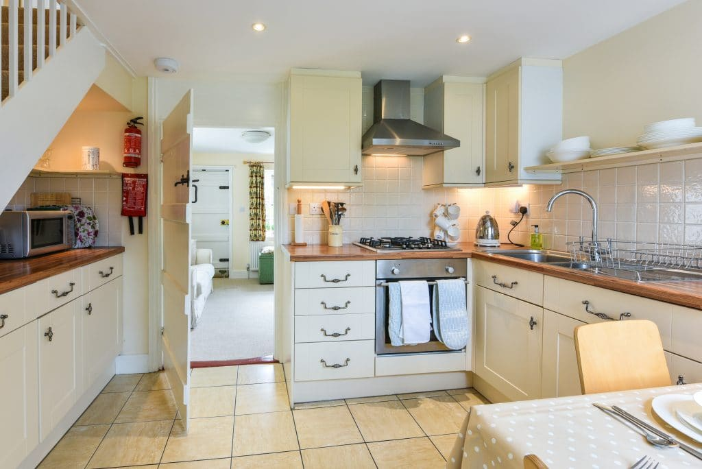 kitchen holiday cottage steyning sussex